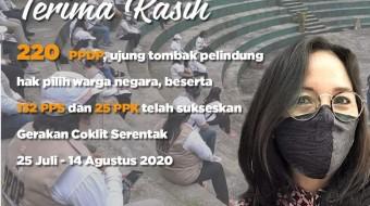 Coklit Tuntas, KPU Apresiasi Kinerja PPDP