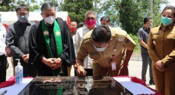 Gubernur Olly Resmikan Gedung Fakultas Teologi UKIT Tomohon