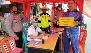 Dipimpin Kapolres Denny Situmorang, Polres Minahasa Jaring 12 Pelanggar Saat Operasi Yustisi