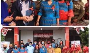 Disambut Djein Rende, TP-PKK Bone Bolango Studi Komparatif di Minahasa Tenggara