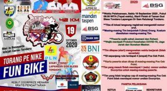 Dorong Sektor Wisata, KNPI dan AWAM Akan Selenggarakan Fun Bike Keliling Danau Tondano