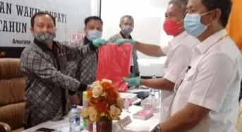 Dikawal Ribuan Pendukung FDW-PYR Mendaftar di KPU Minsel