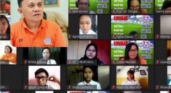 Rumende Gelar Konvokasi Awali Perkuliahan F-MIPA Manado Secara Virtual