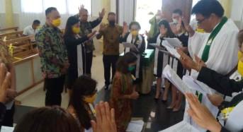 JGE-VB Didoakan dan Diutus di GMIM Wilken Paslaten