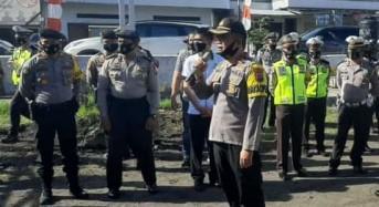 Kawal Pendaftaran Pilkada, Polres Minsel Siagakan 114 Personel dan Terapkan Protokol Kesehatan