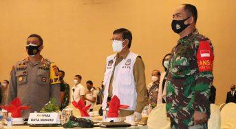 Pemkot Manado Siap Bersinergi Wujudkan Pilkada yang Aman, Damai dan Sehat