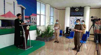 Wali Kota Tomohon Terus Ingatkan ASN-Nakon Terapkan Protokol Kesehatan