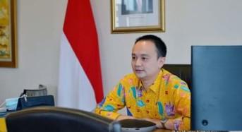 Wamendag Jerry Sambuaga Jadi Pembicara dalam Webinar Pemuda-pemudi Nusa Utara