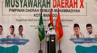 JPAR Jadi Keynote Speaker di Musda X Pemuda Muhammadiyah Kota Manado