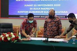 Wagub Kandouw Dukung Pemberantasan Narkoba di Sulut