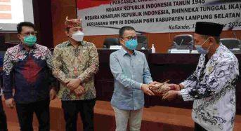SBANL Sosialisasi Empat Pilar di Lampung