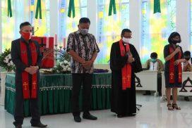 Ibadah Syukur GMIM Imanuel Bahu, Gubernur Olly: Hikmat dari Tuhan Sangat Bermanfaat untuk Kehidupan