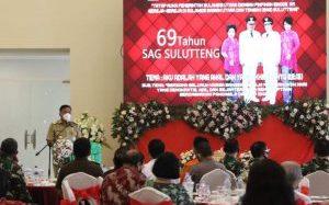 Di HUT ke-69 SAG Sulutteng, Gubernur Olly: Kerjasama Pemerintah, Gereja dan Masyarakat Penting Untuk Pembangunan