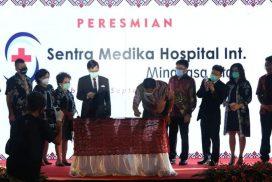Gubernur Olly Resmikan Sentra Medika Hospital International