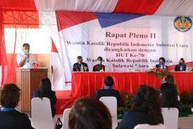 Gubernur Olly Dukung Eksistensi WKRI Sulut