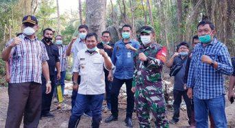 Bupati Sumendap Minta Masyarakat Ratatotok Jaga Kelestarian Kebun Raya Megawati Soekarnoputri