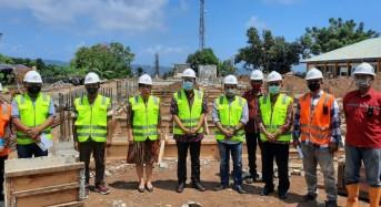 Sekdaprov Silangen Tinjau Pembangunan Proyek Rp.12,4 M Hasil Lobi Gubernur Olly di Kementerian PUPR