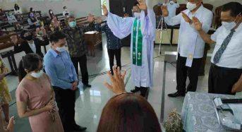 JGE Didoakan dan Diutus di GMIM Maranatha Paslaten