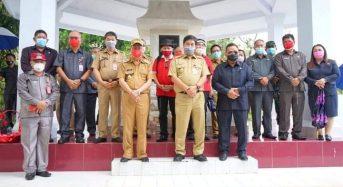 Bupati dan Wabup Minahasa Dampingi Wagub Sulut Ziarah di Makam Dr Sam Ratulangi