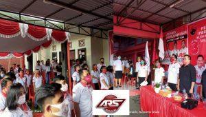 Taruna Merah Putih, TMP, DPC PDI Perjuangan, Richard Sualang, DPC TMP Kota Manado, Apriano Ade Saerang,