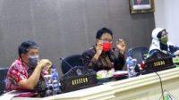 Sekdaprov Sulawesi Utara, Edwin Silangen, Tim Korpsugah, optimalisasi pajak daerah, Ketua Tim Korsupgah Wilayah 3 KPK RI, Dwi Aprilia Linda,